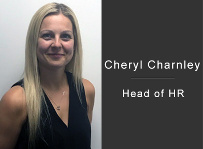 Cheryl Charnley, Head of HR